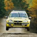 Junior Rally Driving in Gloucestershire